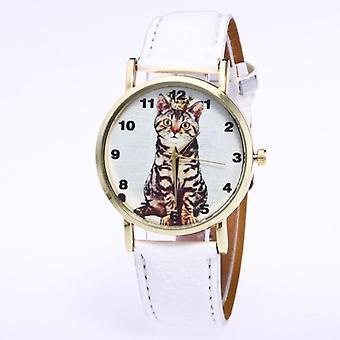 Söt katt klocka