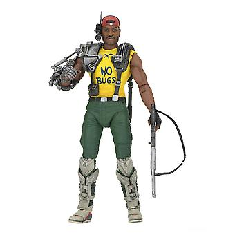 Sgt Apone Poseable Figure from Aliens Expanded Universe