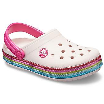 Crocs Crocband Sequin bandet tette jenter sandaler