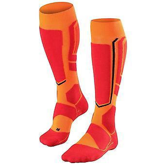 Falke Snowboarding 2 Knie hohe Socken - Flash Orange