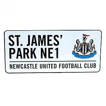 Newcastle United FC oficial calle muestra