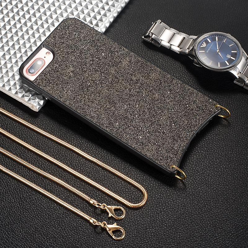 CaseGate phone chain for Apple iPhone 7 Plus / 7S Plus / 8 Plus phone chain necklace case cover