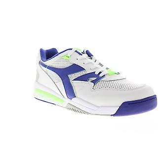 Diadora Rebound Ace Mens White Lace Up Low Top Sneakers Shoes