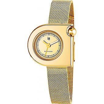 LIP MACH 2000 671105 Watch - Women's Dor e Milanese Watch