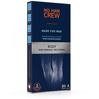 No Hair Crew Wax Bands For The Body