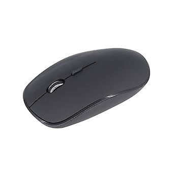 2.4GHz Wireless Black Optical Mouse with Micro USB