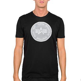 Hologramme de T-Shirt Pour Homme Alpha Industries