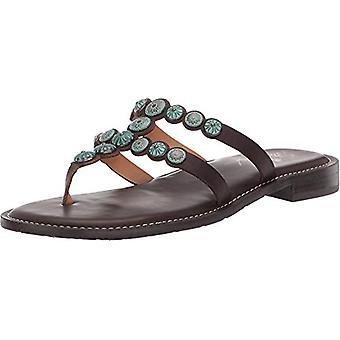 Patricia Nash Womens Fiorella Open Toe Beach Slide Sandals