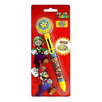 Super Mario, Multicolored Pen