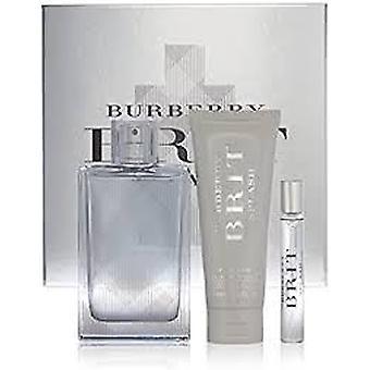 Burberry Brit Splash Gift Set 100ml EDT + 50ml Hair & Body Wash + 75ml Face & Body Moisturiser
