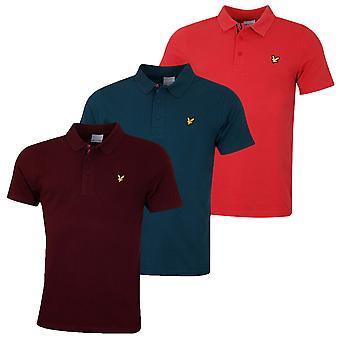 Lyle & Scott Mens Plain Wicking UV Protection Technical Polo Shirt