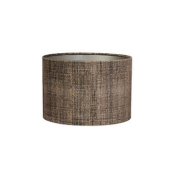 Light & Living Cylinder Shade 50x50x38cm Bark Brown