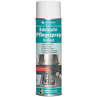 "HOTREGA® stainless steel care spray ""Brilliant"", 500 ml spray can"