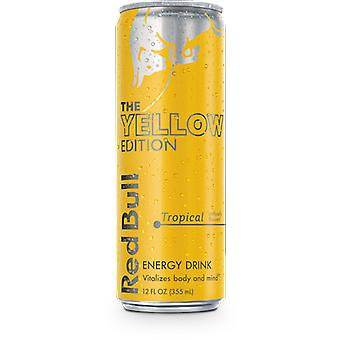 Red Bull Edition Yellow-( 250 Ml X 4 Cans )