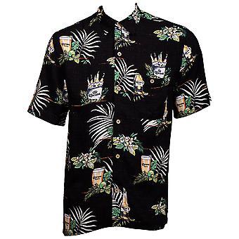 Corona Luxury Hawaiian Button Down Shirt