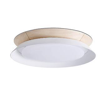 Faro Tender - Led Flush Ceiling Lamp White 24W 3000K - FARO20095