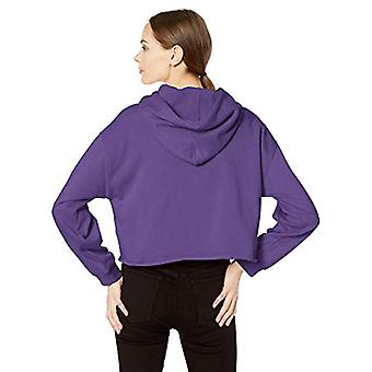 Levi's Women's Raw Cut Hoodie Sweatshirt, Passion Flower, Medium