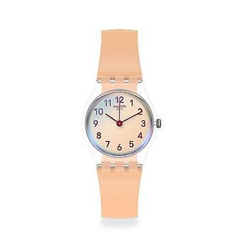 Swatch Lk395 Casual Pink Silicone Watch
