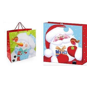 Catalogue de Noël sac cadeau géant (Pack de 2)