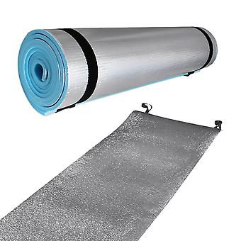 Milestone Single Side Insulated EVA Camping Mat Silver 180 x 50 x 0.6cm