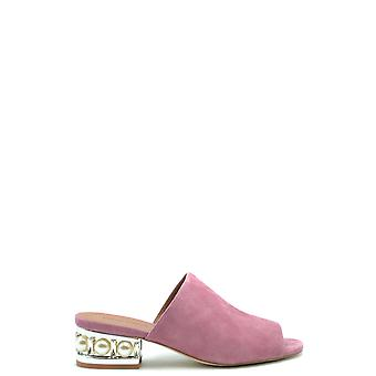 Jeffrey Campbell Ezbc132050 Women's Pink Suede Sandals