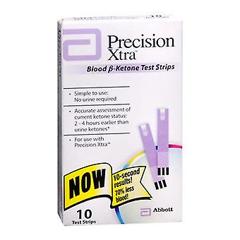 Percision xtra blood b-ketone test strips, 10 ea