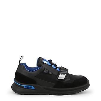 Prada Original Men All Year Sneakers - Black Color 34421