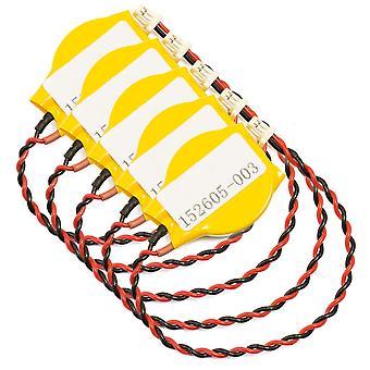 5-pck المكمل البطارية ل HP NC6000 NX6110 NC6220 NC6120 أرمادا E500 152605-003