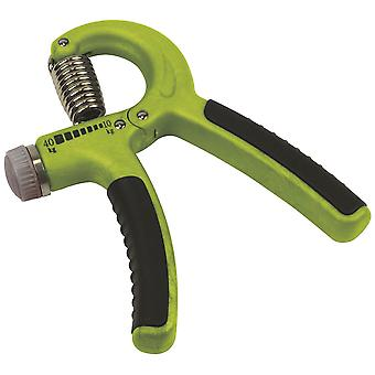 Urban Fitness Adjustbale Spring Hand Held Exerciser Grip Strength Green