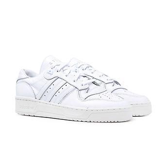 Adidas Originals Rywalizacja Chmura Białe skórzane buty sportowe