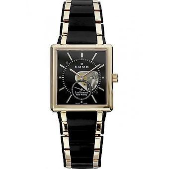 Edox - Wristwatch - Unisex - Les Bémonts - 72012 357RN NIR