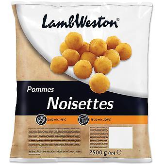 Lamb Weston Frozen Pommes Potato Noisettes