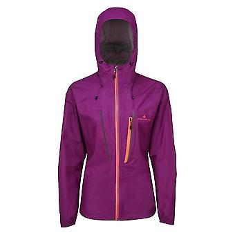 Ronhill Infinity Fortify Womens Fully Waterproof and Breathable Running Jacket Grape Juice (ss20)