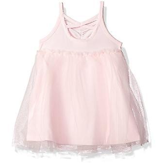 Crazy 8 Girls' Toddler Ballerina Dress, Pink, 3T