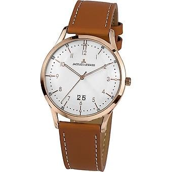 Jacques Lemans - Wristwatch - Men - Retro Classic - - 1-2066F