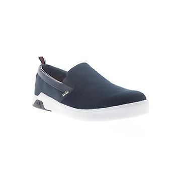 Ben sherman harry slip on miesten sininen kangas lifestyle lenkkarit kengät