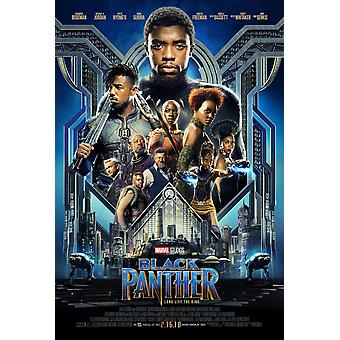 Black Panther Original Movie Poster Double Sided Final Style