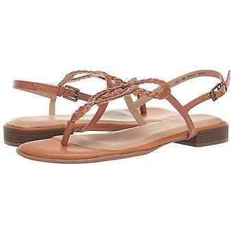 SOUL Naturalizer Womens Ready Leather Split Toe Casual Slingback Sandals