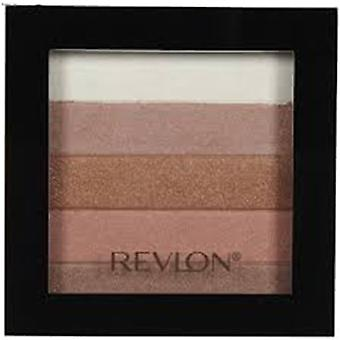 Revlon Highlighting Palette, Bronze Glow 030, 0.26 Oz { 4 Pack }