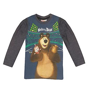 Masha and the bear kids t-shirt