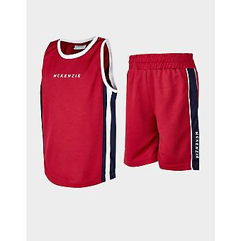 Nieuwe McKenzie Kids' Mini Danae Mesh Vest/Shorts Set Red