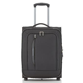 travelite CrossLITE Handbagage Trolley S, 2 wielen, 54 cm, 42 L, Zwart