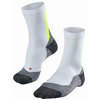 Falke Achilles Socks - White/Lightning Yellow