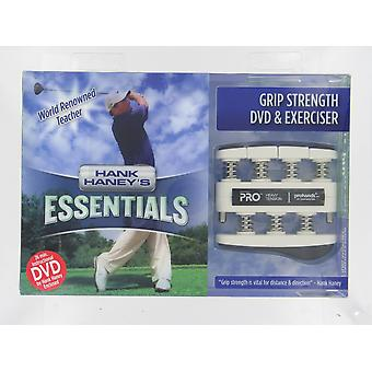 Gripmaster Prohands Grip and Strength Exerciser and DVD with Hank Haney Heavy