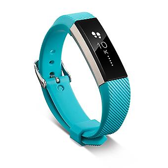 Replacement Wristband Bracelet Strap Wrist Band for Fitbit Alta Classic Buckle [Teal] BUY 2 GET 1 FREE