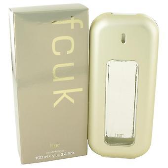 Fcuk Eau De Toilette Spray By French Connection 3.4 oz Eau De Toilette Spray