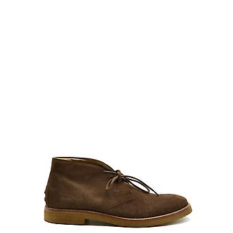 Tod's Ezbc025115 Men's Brown Suede Ankle Boots