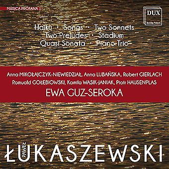 Lukaszewski / Mikolajczyk-Niewiedzial - Lukaszewski: Musica Profana 1 [CD] USA import