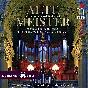 Andreas Sieling - Alte Meister: In Bearbeitung Durch Karl Straube [SACD] USA import