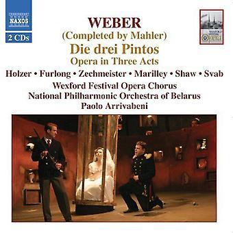 C.M. Von Weber - Weber: Die Drei Pintos (completato da Mahler) importazione USA [CD]